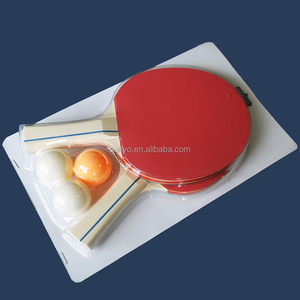 Ping Pong Paddle Set Professional 2 Player Table Tennis Racket Bundle with 3 Balls and Carrying Case For Family Kids