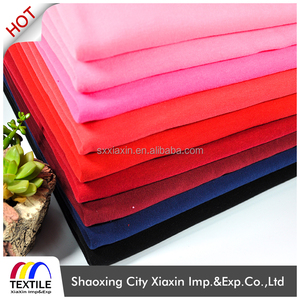 High quality China cheap poly spun polar fleece bonded grey melange fleece fabric/one side bush for Garment