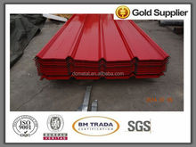 5mt of corrugated sheet prepainted galvanized steel in ali