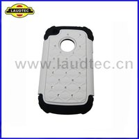 Bling Hybrid Silicone Cover Case for BlackBerry 9220