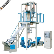 PVC leather making machine film blowing machine plastic film machine mini blown film extruder