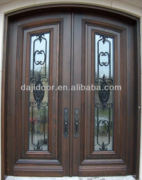 Wrought Iron Anti Theft Doors With High Security DJ-S9990MWA