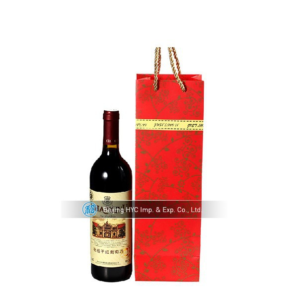 wine carrying jute bottle clear cooler plastic bag