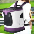 Foldable Luxury Pet Backpack Carrier Transport Backpack