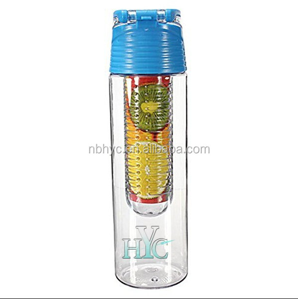 how to use flavor infuser water bottle