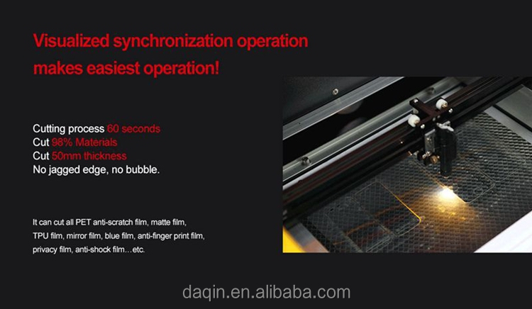 Mobile Screen Tempered Glass Cutting machine/laser screen cutting machine/screen protector cutting machine