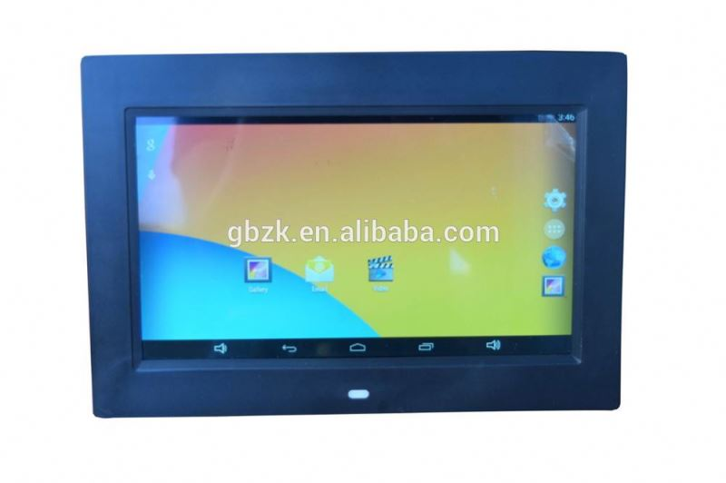 10 inch bus lcd media advertising display with SD USB FM IR