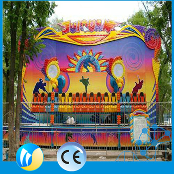 Hot selling outdoor amusement rides miami trip for children games