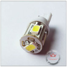 New Arrival hotsale high quality factory price Auto LED t10 yellow 5630 5smd led car bulbs in good market