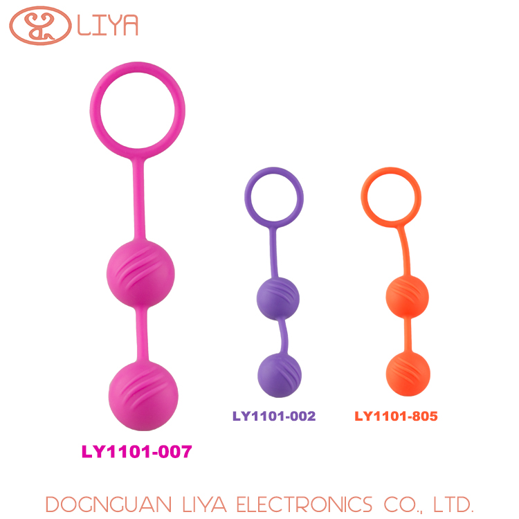 made in china male female sex picture pull handle design silicone vagina ball
