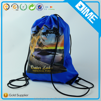 Portable Promotional Sports Shoe Adjustable Backpack