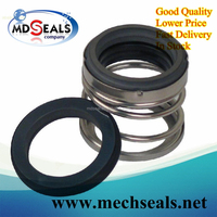 type 21 mechanical seal with graphite ring and ceramic ring