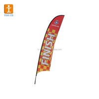 Hot-selling Customized Cheap Beach/Flying Advertising Flags