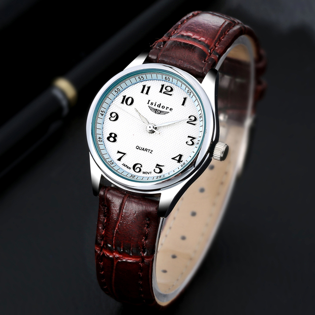 Fashion Casual Womens Watch Luxury  High Quality Leather Ladies Watches Waterproof Quartz Wrist Watches For Women Montre Femme