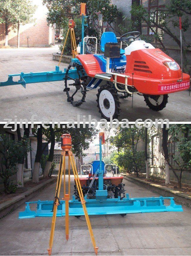 High quality Laser land leveller (paddy)