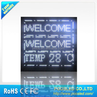 white led moving message sign