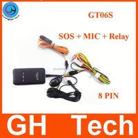 Globle laptop gps tracker GT06S For car with Voice monitor google maps link