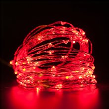 Wholesale outside christmas lights battery operated ceiling red heart fairy lights