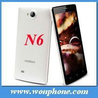 "New Chinese brand Neken N6 smart phone MTK6589T Quad Core 1.5GHz 5"" FHD IPS multi-point Capacitive Screen 1920x1080 pixels"