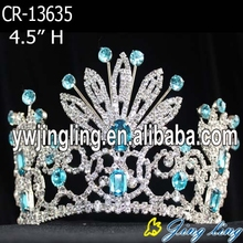 Turquoise Beauty flower pageant crowns