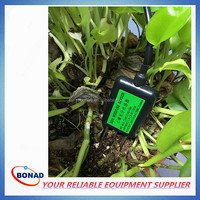 Quick Respond Soil Water and Temperature Tester with high precision sensor probe