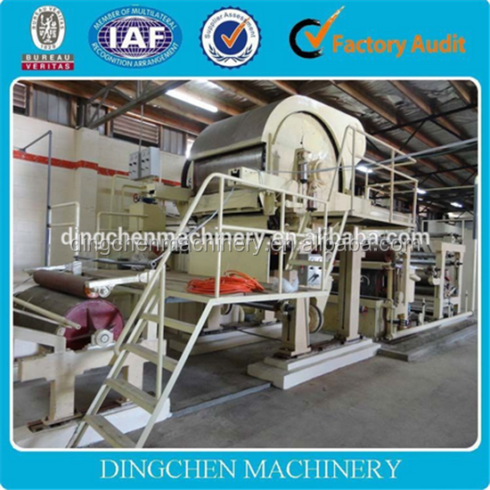 Paper Making Machine Direct Manufacturer Small Toilet Paper Manufacturing Machine