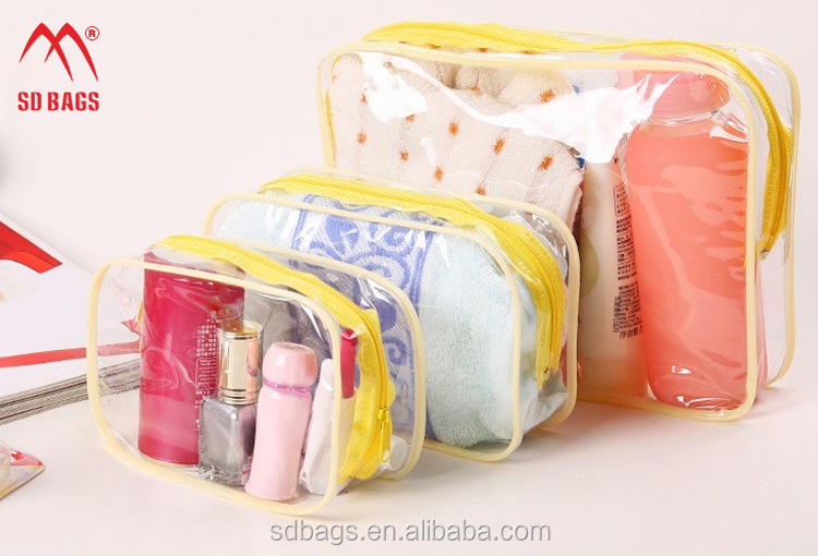 Hot-sale high quality stock PVC cosmetic bag