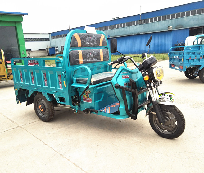 60V Voltage and 2120 <strong>x</strong> <strong>1000</strong> <strong>x</strong> 1050 Size electric tricycle for food cargo tricycle for sale electric tricycle