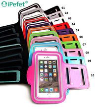 Running Jogging Case Neoprene Material Sport Armband for Mobile Phone