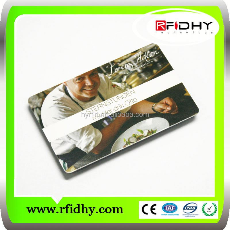 china supplier RFIDHY clear plastic card sleeves