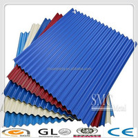 high demand products of copper colored metal roof /rib-type corrugated color roof