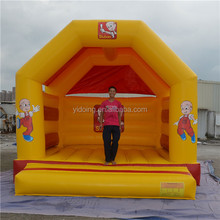 Cheap inflatable moon bouncer, inflatable jumping bouncer with a cover B1180
