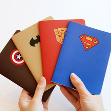 Custome superman pattern notebook
