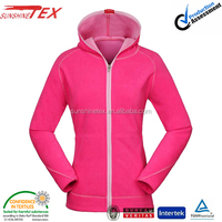 wholesale women's apparel and outdoor clothing which is made of polar fleece jacket for ladies