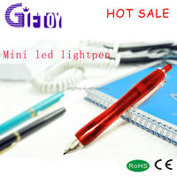 LED light up pen led light flashing for Dorctor writing in the dark