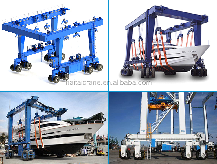 Shipyard Ship boat lifting crane