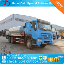 howo 6x4 16 tons asphalt spray truck