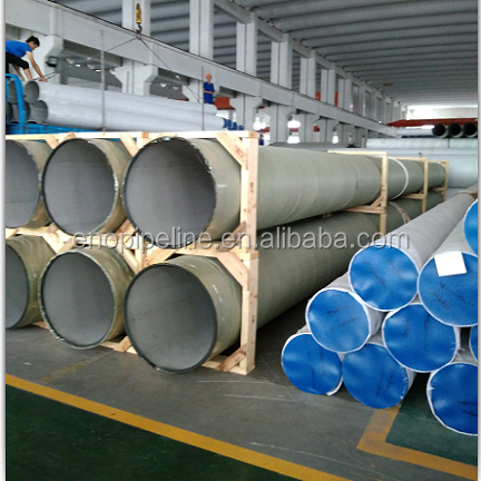 Double seam stainless steel pipeline products
