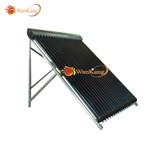 High efficiency heat pipe hot selling great material vacuum tube flat panel solar collector