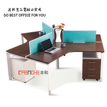 [commercial furniture]High Quality 3 Seats Office Cubicles Call Centre Desking SH-501
