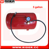 New hand control portable compressed air tank