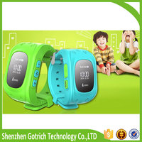 Fashion hot waterproof mini cell phone watch gsm tracker watch for kids made in China