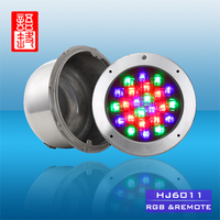 IP68 RGB CE and RoHS Certificate 12v Par56 Led Swimming Pool Light
