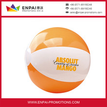 Wholesale custom promotional inflatable beach ball , PVC beach ball with logo printing