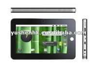 7 inch Android 2.3 tablet with 1.2Ghz CPU+1.3MP Camera M704