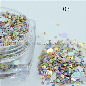 Gold glitter powder flakes fine glitters pigments wholesale mixed glitter