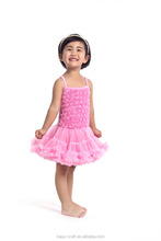latest frock designs for girls baby rose braces dress party dresses for girls