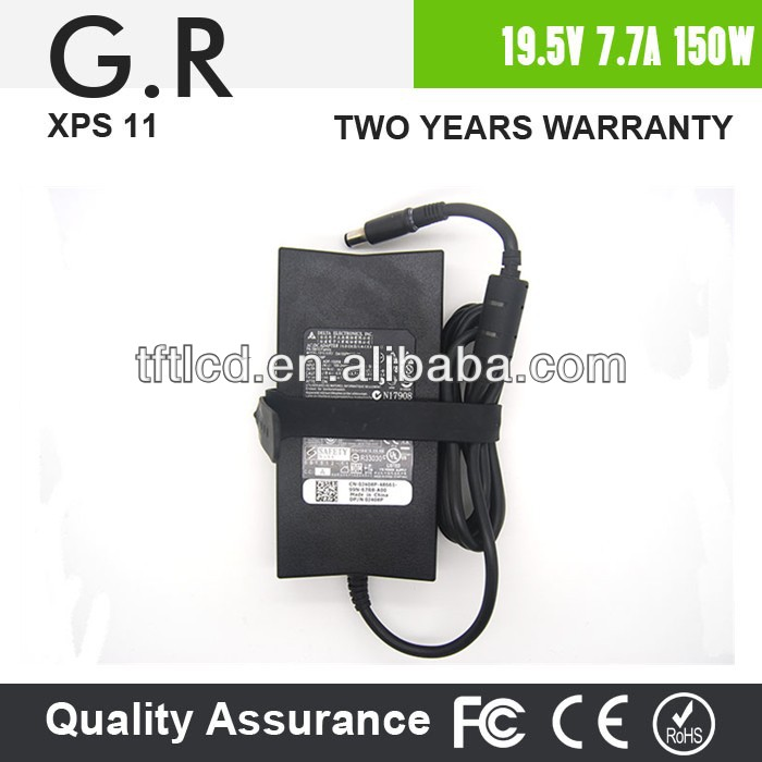 Original Compatible laptop AC Adapter power charger 19.5V 7.7A 150W for Dell Alienware