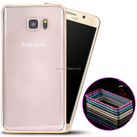 2016 alibaba bumper case cover,strong shockproof blade metal aluminum bumper case for Samsung s6 edge plus