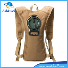 Outdoor sport camping cycling military tactical hydration bag with bladder